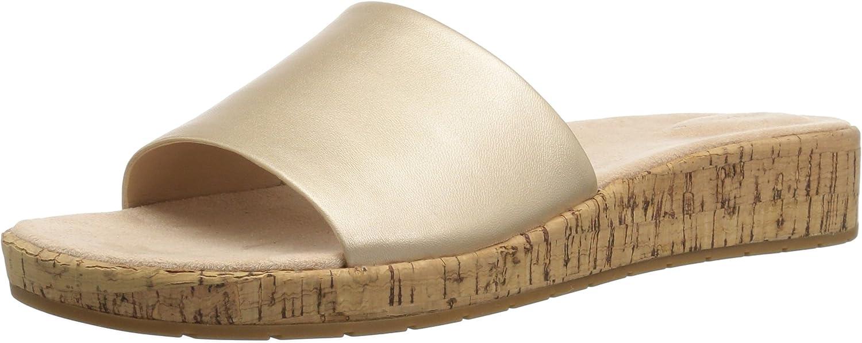Easy Spirit Woherren MUSCARI Sandal, Gold, 7 W US  | Der Schatz des Kindes, unser Glück