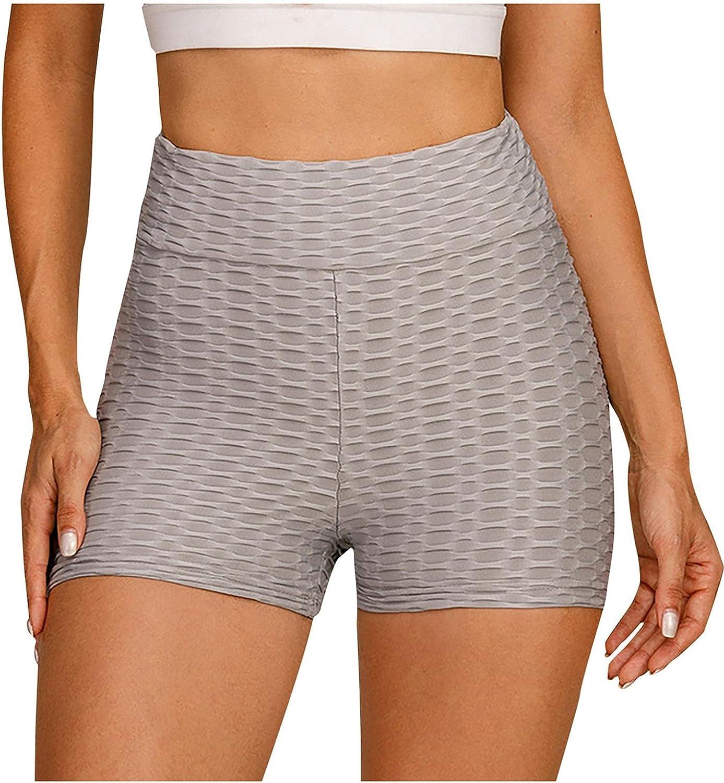 WOSHUAI TIK Tok High Waist Hip Undershorts TIK Tok Tummy Control Stretch Shorts for Mens Womens