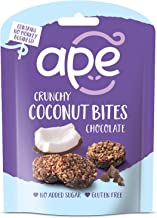 Ape Snacks Ape Coconut Bites Chocolate 26g (Pack of 10)