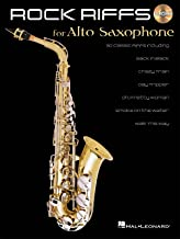 Rock Riffs - Alto Saxophone Songbook and CD Package