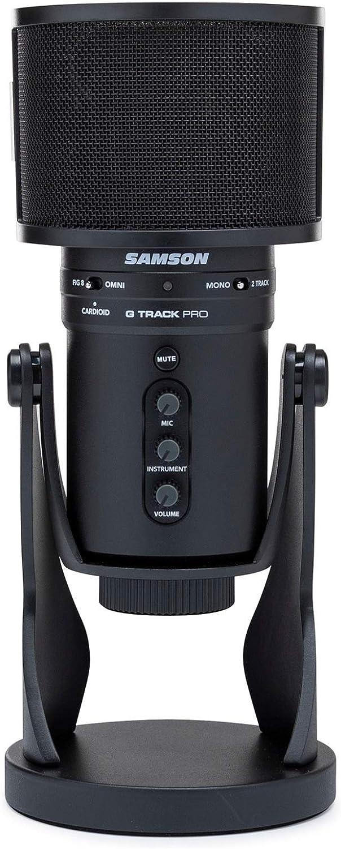 Samson G-Track Pro Cheap SALE Start Professional Microphone Condenser USB Bundle Special Campaign