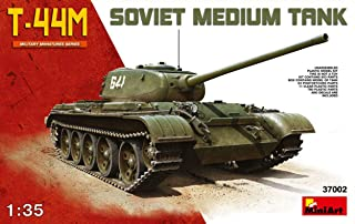 MINIART MIN37002 T-44M SOVIET MEDIUM TANK KIT 1:35 MODELLINO MODEL