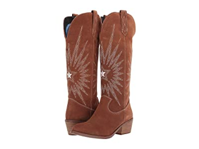 Dingo Star Is Born (Whiskey Suede) Cowboy Boots