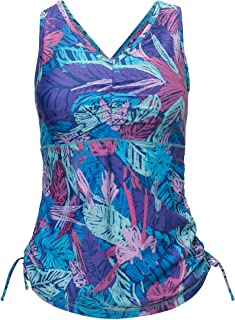 UPF 50+ Women's Ruched Tank Top