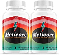 (2 Pack) Meticore Weight Management Pills, Medicore Manticore Pills Metabolism Supplement Booster - Healthy Energy Support...