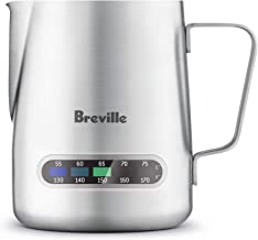 Breville The Temp Control Milk Jug Temperature Control Jug, Silver, BES003