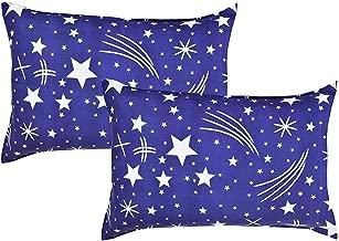 ZEFF FURNISHING Urban Home Designer Printed Cotton Pillow Cover Set, 17 x 27-inch , Multicolour -2 Piece