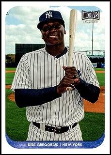 2018 Topps Archives Snapshots #AS-DG Didi Gregorius NM-MT New York Yankees Official MLB Baseball Card