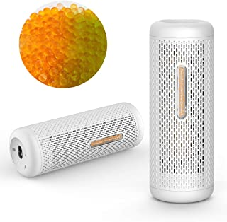DEERMA Small Dehumidifier Moisure Absorber, Portable, Rechargeable & Renewable Mini Dehumidifier with 350g Silica Gel for Damp Air, Closet, Cabinet