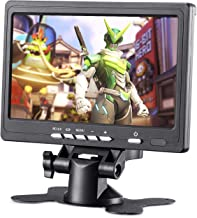 BASENSE 7 Inch HDMI TFT LCD Monitor 1024x600 for Raspberry Pi Car Rearview Cameras, Car DVD, Serveillance Camera, STB, Satellite Receiver and Other Video Equipment
