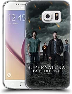 Official Supernatural Sam, Dean, Castiel & Crowley 2 Key Art Soft Gel Case Compatible for Samsung Galaxy S7