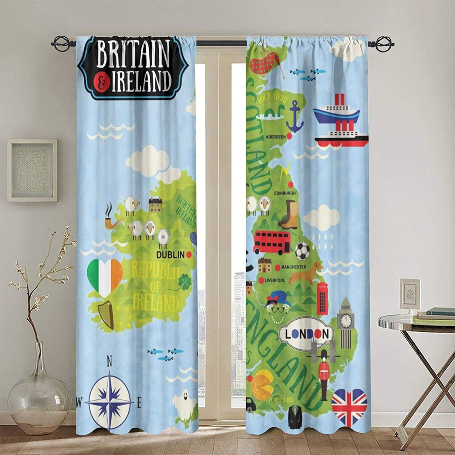 Rod Pocket Blackout Translated Curtains Thermal Window Max 56% OFF Ca Insulated Curtain