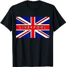 Liverpool British Flag Vintage Retro Souvenir T-Shirt