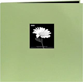 Pioneer Pioneer Book Cloth Cover Post Bound Album 8x8-Sage Green