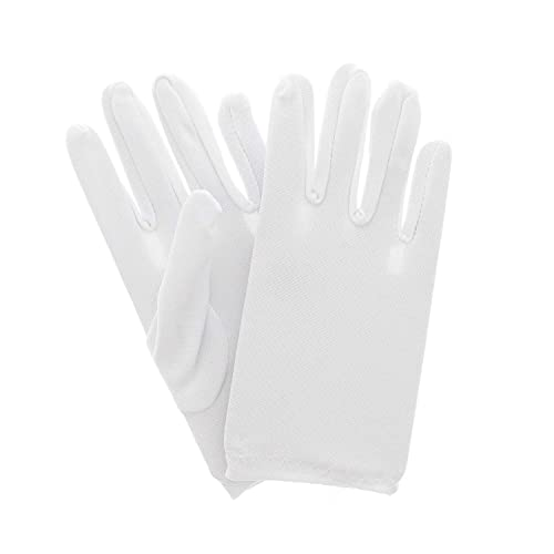 Zac s Alter Ego® Fancy Dress Soft White Children s Gloves a27bbbdb4a31