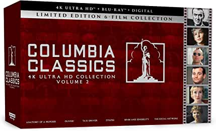 Columbia Classics 4K Ultra HD Collection Volume 2 arrives Sept. 14 from Sony Pictures