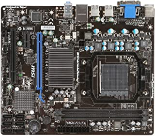 MSI 760GM-P23-FX AMD Am3+ 760G Chipset Micro-ATX Motherboard