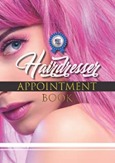 New 365 days Appointment Book for hairdressing salons and barber shop: Daily appointments with time and days slots. The on...