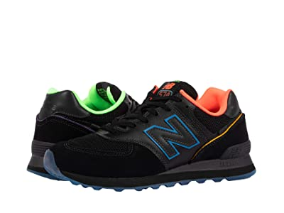 New Balance Classics Zappos 20th x ML574ZP (Black/Blue) Shoes