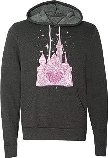 DisGear The Perfectly Pink Princess Ladies Castle - Women's Fleece Hoodie