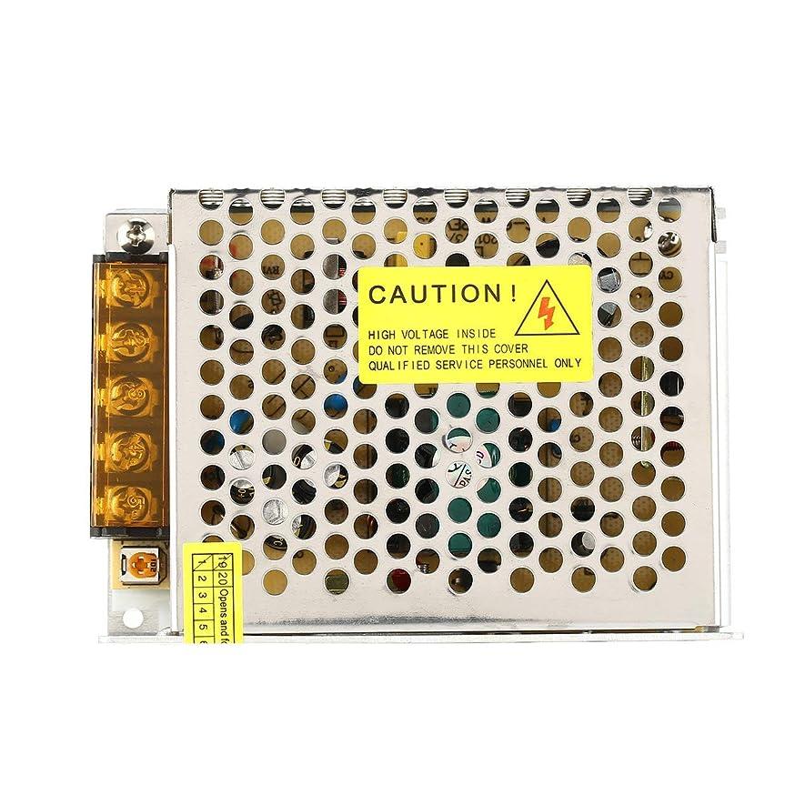 株式流行野なDC 5V 60W LED電源スイッチ電流電圧ドライバアダプタスイッチング照明安定化変圧器定電圧(色:黒)