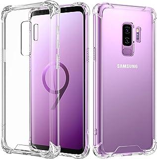 Capa Anti Shock para Samsung Galaxy S9, Cell Case, Capa Anti-Impacto, Transparente