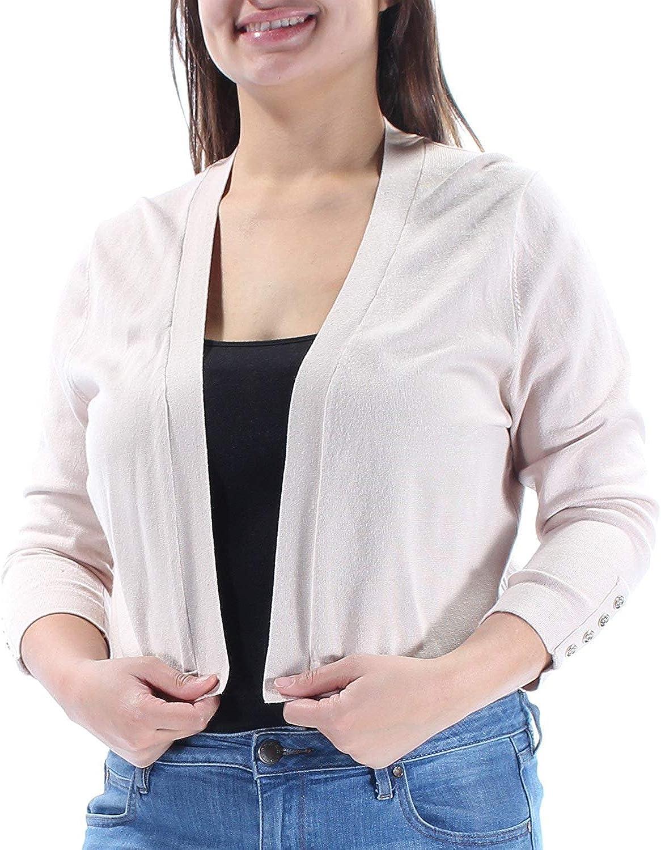Tommy Hilfiger Women's Button Sleeve Shrug