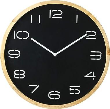Amalfi TYCL 5523BK Leni Wall Clock