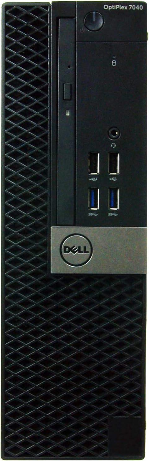 Dell Optiplex 7040-SFF, Core i5-6500 3.2GHz, 8GB RAM, 2TB Hard Drive, DVD, Windows 10 Pro 64bit (Renewed)