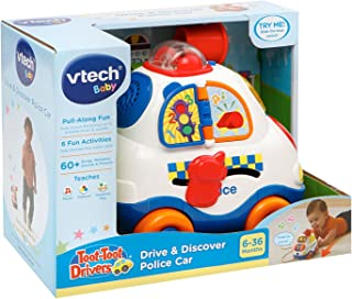 """Vtech 1273560cm Toot Toot Driver and Discover Police Car"""" Toy"""