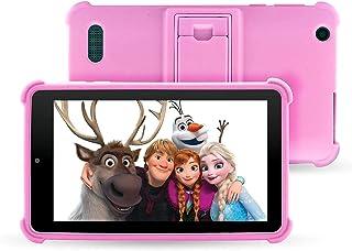 "Venturer Small Wonder 7"" Android Kids Tablet with Disney Books, Bumper Case & Google Play, 16GB Storage & 2GB RAM (Pink)"