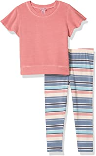 Splendid Girls' Kids' Short Sleeve Legging Set