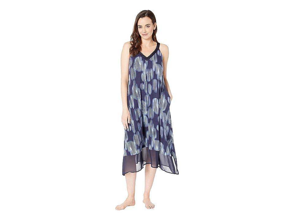 Donna Karan Nightgown Modal Spandex (Ink Print) Women