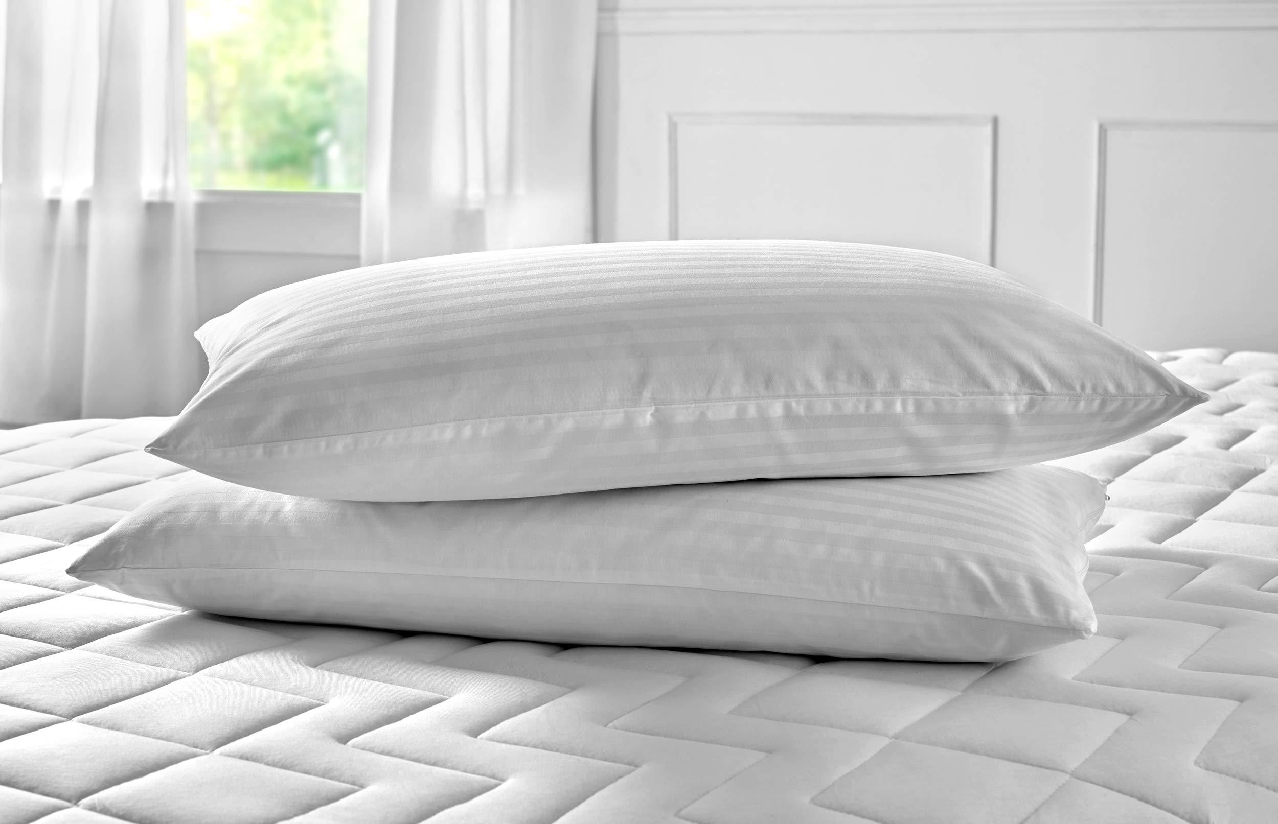 Pikolin Home - Funda de almohada cutí, 100% algodón satén, 50x70cm (Todas las medidas): Amazon.es: Hogar