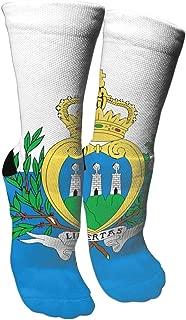 Sam Poop Socks Crew Sock Crazy Socks Long Tube Socks Novelty Fun for Women Teens Girls