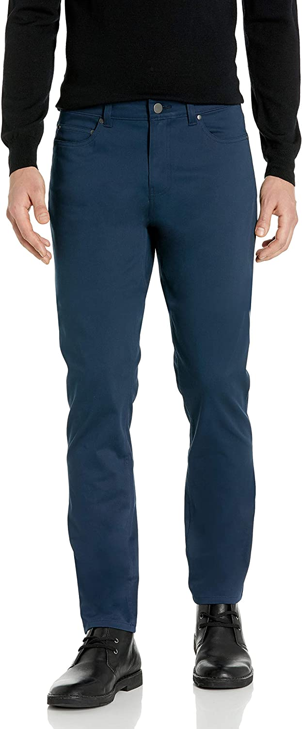 Store Atlanta Mall Buttoned Down Men's Slim-Fit 5-Pocket Twill Care Easy Ch Stretch