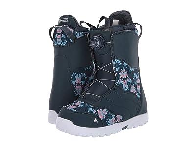 Burton Mint Boa(r) Snowboard Boot (Midnite Blue/Multi) Women