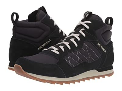 Merrell Alpine Sneaker Mid (Black) Men