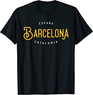 Barcelona Catalonia Spain Europe Destination Souvenir Shirt