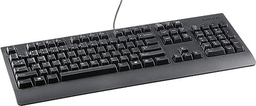 Lenovo Preferred Pro USB Keyboard (Business Black) - U.S. English - Teclado (Alámbrico, USB, QWERTY, Negro)