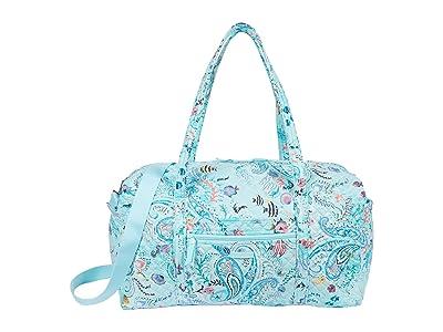 Vera Bradley Large Travel Duffel (Paisley Wave) Handbags