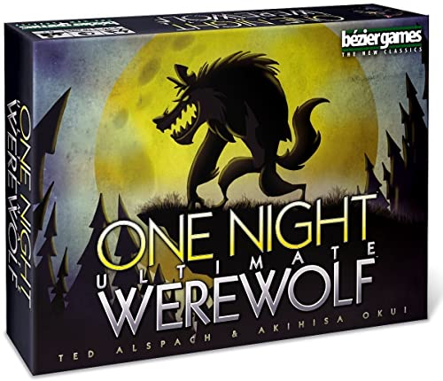 Bezier Games One Night Ultimate Werewolf Board Games product image
