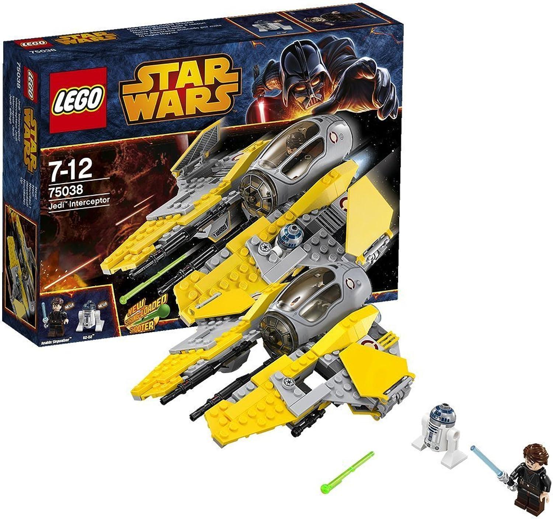 caliente LEGO LEGO LEGO Estrella Wars - Jedi Interceptor (75038)  Vuelta de 10 dias