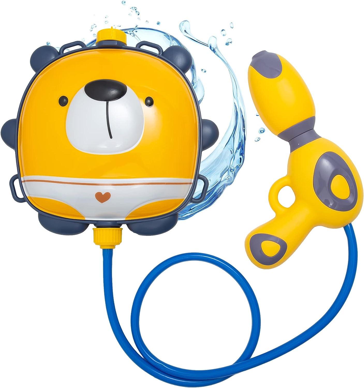 HO-EF Max 65% OFF Bargain sale Water Gun Backpack for Bac High-Capacity Kids Bear 1000ML