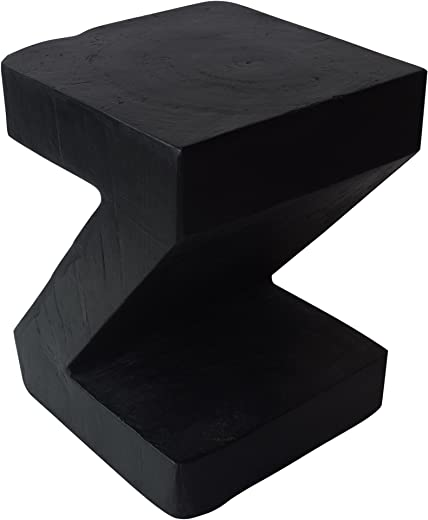 B07F65FYSB✅Christopher Knight Home 305833 Jingle Outdoor Light-Weight Concrete Side Table, Black