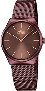 Lotus watches Womens Analog Quartz Watch with Stainless Steel bracelet 18482/A