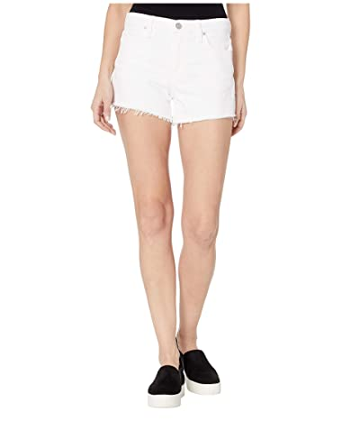 Hudson Jeans Gemma Cut Off Shorts in White (White) Women