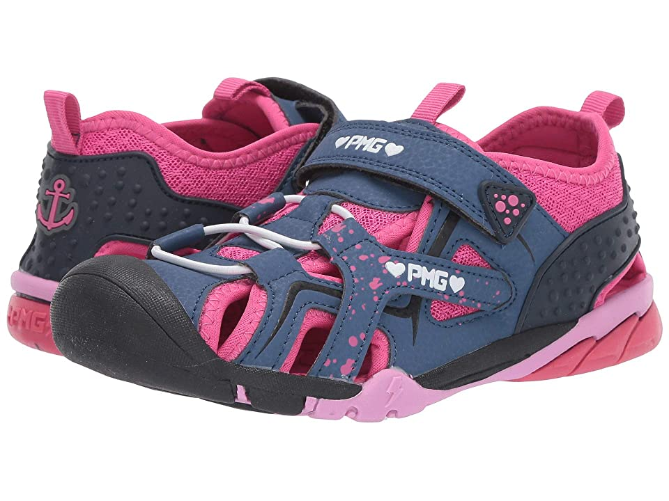 Primigi Kids PAQ 34620 (Toddler/Little Kid/Big Kid) (Navy/Pink) Girls Shoes