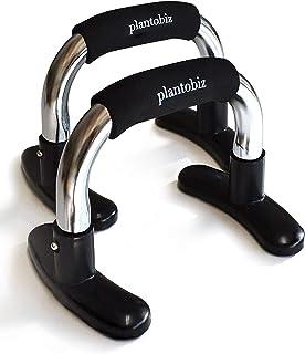 plantobiz プッシュアップバー 金属 腹筋 背筋 腕立て伏せ ベンチプレス 筋肉トレーニング ダイエット 肉体改造