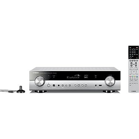 ヤマハ AVレシーバー RX-S602 5.1ch/4K/Bluetooth/Wi-Fi/ネットワークオーディオ/ハイレゾ音源対応 チタン RX-S602(H)
